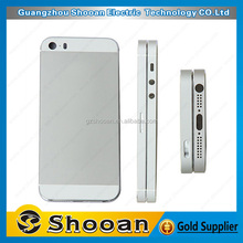 low price chinese mobile for iphone 5s rear back housing mid frame,back cover cases for iphone 5s