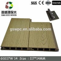 New design wpc wall panel Wood Plastic Composite cladding wpc wall cladding