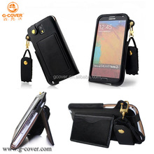 Wholesale factory price high quality pu leather case for samsung galaxy note 3