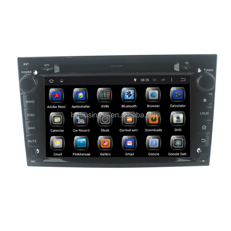 Quad Core Android 4.4 Touch Screen Central Multimedia for Opel VECTRA/ ANTARA/ ZAFIRA Car Audio DVD Player With GPS Navigation