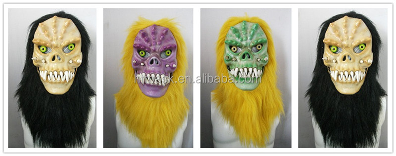 Moving Mouth Person Mask for Holloween Party - Monster002