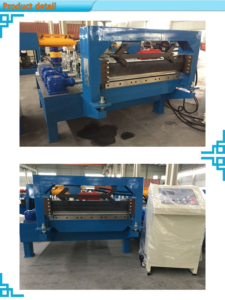 steel sheet galvanized coil cut to length machine