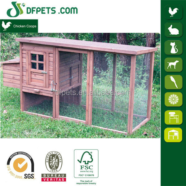 DFC1304 Chinese Cheap Wood Chicken Coop Galvanized Wire Mesh For Laying Hens