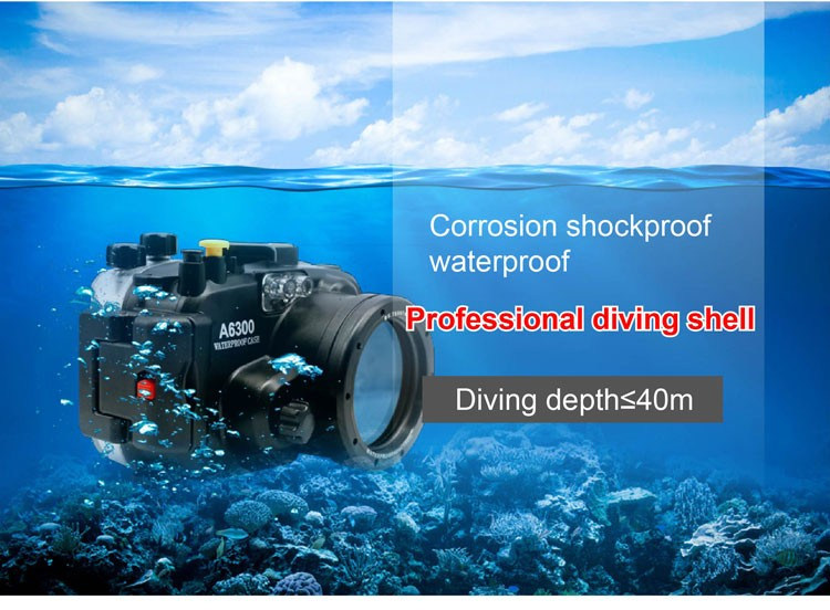 diving underwater waterproof housing case torch flashlight starbea tray Professional Photographic accessories