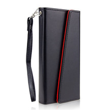 Magnetic Detachable Wallet Case PU Leather Credit Card Pouch Smart Phone Case for iPhone X CA5995