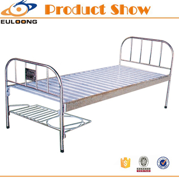 Simple design and cheap all stainless steel hospital bed philippines