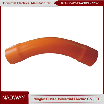 Australia orange heavy duty 45 degree pipe bend