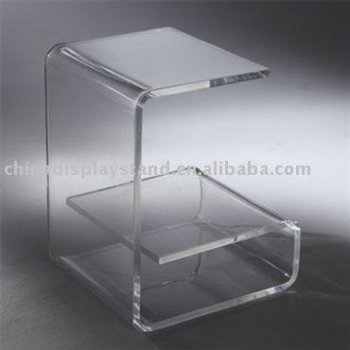 Acrylic end table, acrylic side table, lucite end table, lucite side table, perspex side table, perspex end table