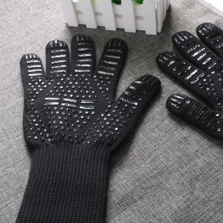 Wholesale 932F Heat Resistance Protection BBQ Fire Resistant Gloves