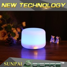 New upgrade and designed 7 color changing led oil diffuser