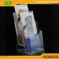 JLP A5 Acrylic Brochure Holder,Display Stand,Wall Mount Brochure Holder