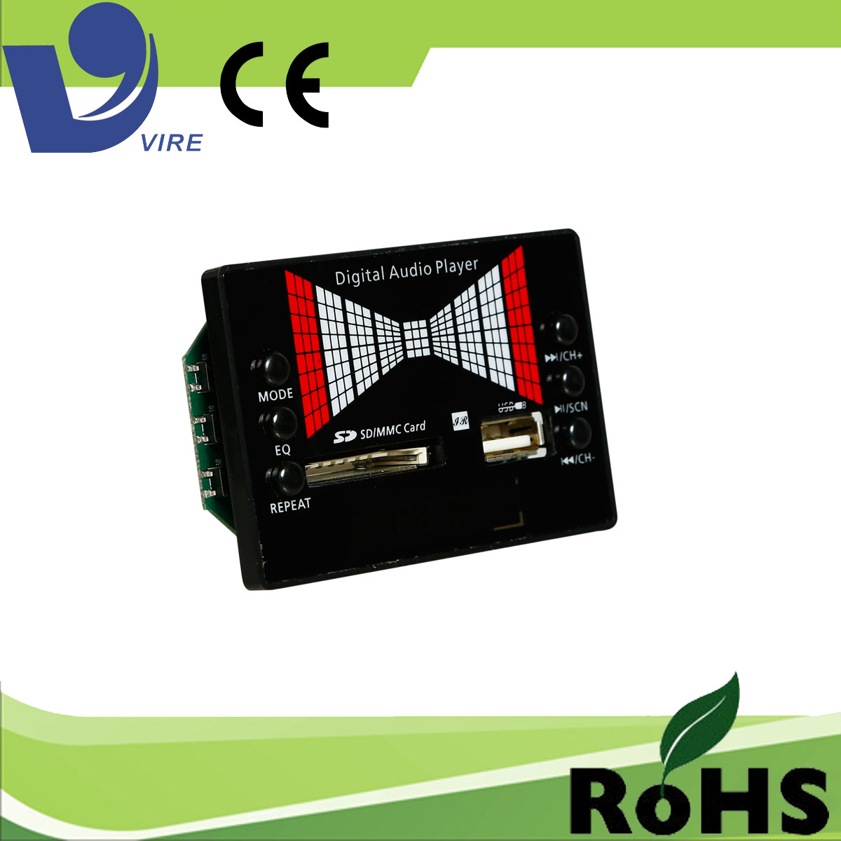 vire LT-03 digital fm radio audio player module