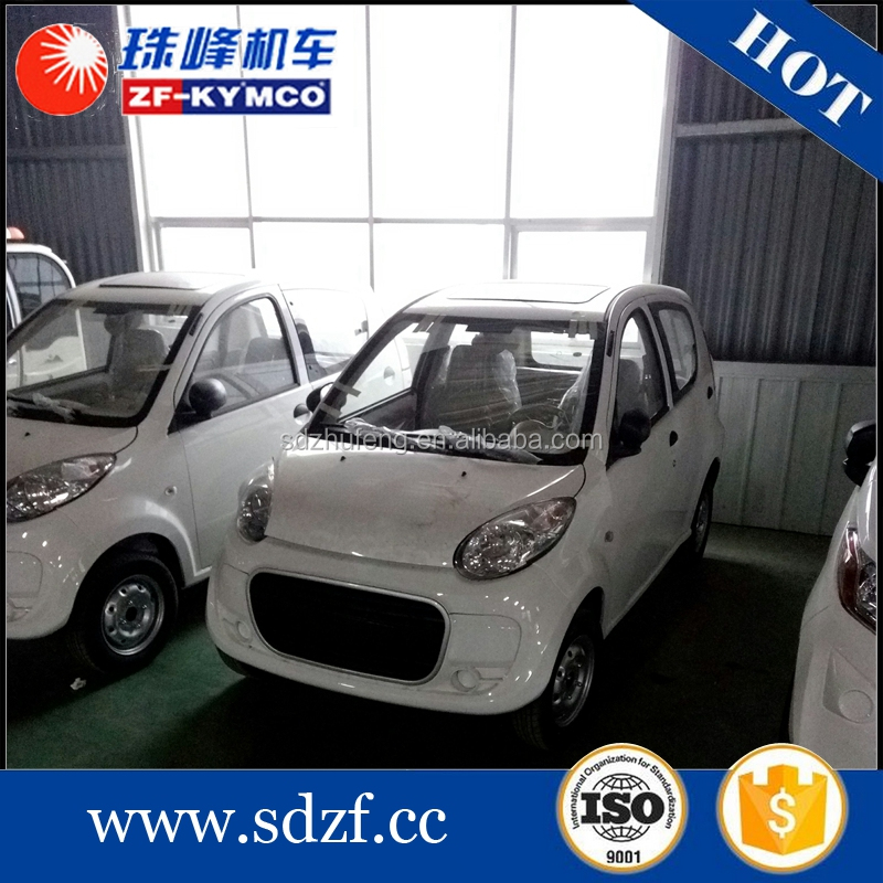China best supplier four wheel eec l7e electric mini flat car