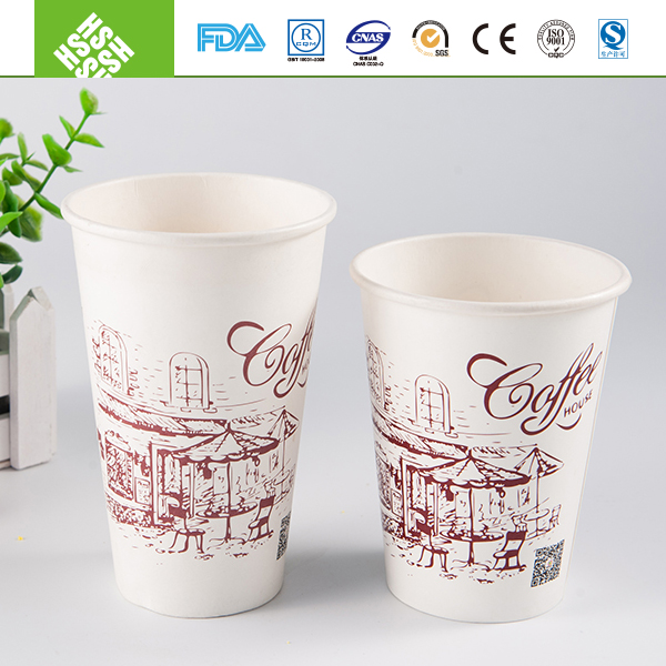 8oz jelly pudding paper cup manufactures from China