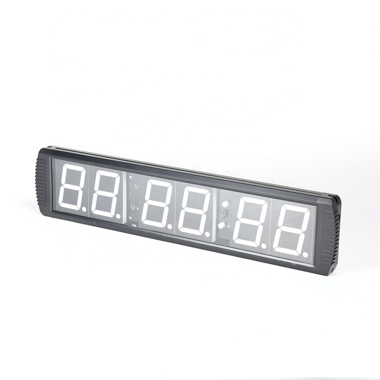 Multi-functional sport training 6 digits led remote gym <strong>timer</strong>