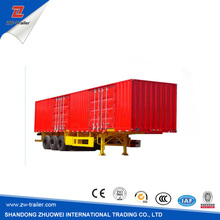 Personalized Design Box Semi Trailer With Can be Converted Into A Station Wagon