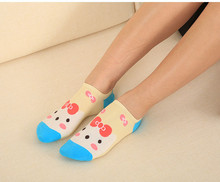 outiai woman boat sock cotton sock girls sock