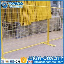 brand new design promotional long life galvanized canada temporary fence