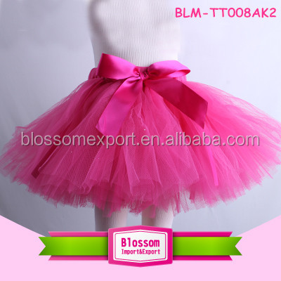 Latest fluffy baby girls skirt tutu soft tulle skirt baby pettiskirt handmade tutu skirt