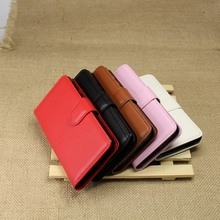 Design best sell leather case for huawei honor 3