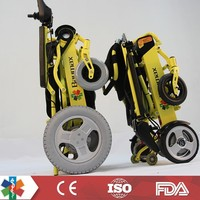 2015 New lightweight folding electric wheelchair