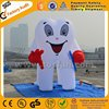 Newly style inflatable tooth shape balloon giant inflatable tooth F7002