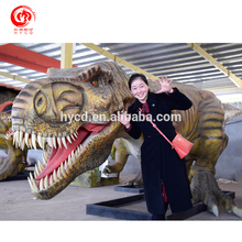 High quality sculpture life-size t-rex dinosaur models
