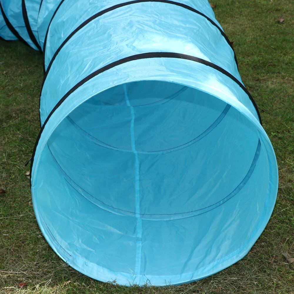 Pet Training Tot Cat Agility Play Tunnel Tube Kitty Cat Tunnel