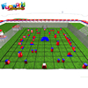 Hot giant adult inflatable paintball field rubber paintball balls bunkers