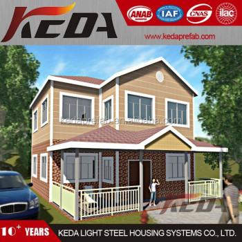 Prefabricated House as Beach Home in Holiday Resort for Vacation KDV401