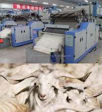 Yuanquan A186 Sheep Wool Processing Equipment Cashmere Carding Machine for Sale