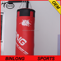 Punching bag with spinning