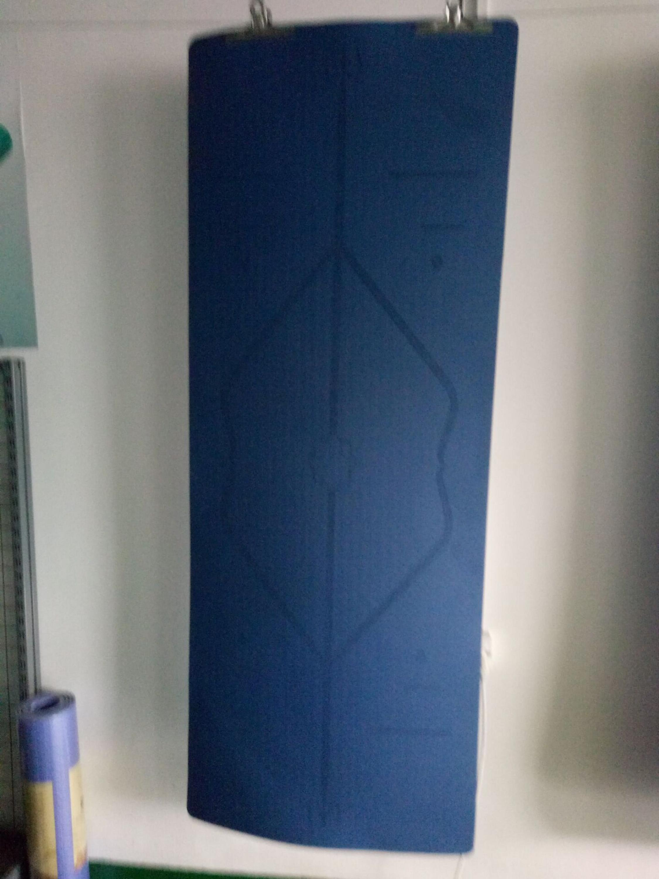 Laser engraving line position TPE yoga mat for new learner