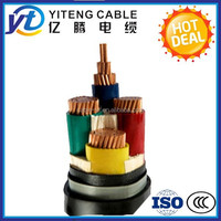 0.6|1kv copper conductor XLPE Low voltage 3 core 4core 25mm2 35mm2 50mm2 75mm2 power cable electrical cables