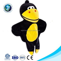 ICTI factory high quality customize stuffed crow toy fashion soft cute stuffed plush crow toy