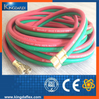 Smooth Industrial Rubber Welding Hose Twin Line Hose Pipe