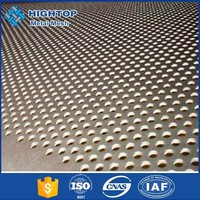 Construction Perforated Metal/interior aluminium decorative metal perforated sheets
