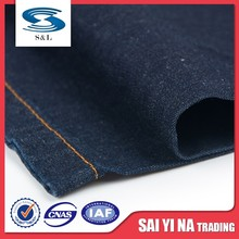 1180 China manufacturer 100% cotton 233gsm twill denim fabric for jeans garments