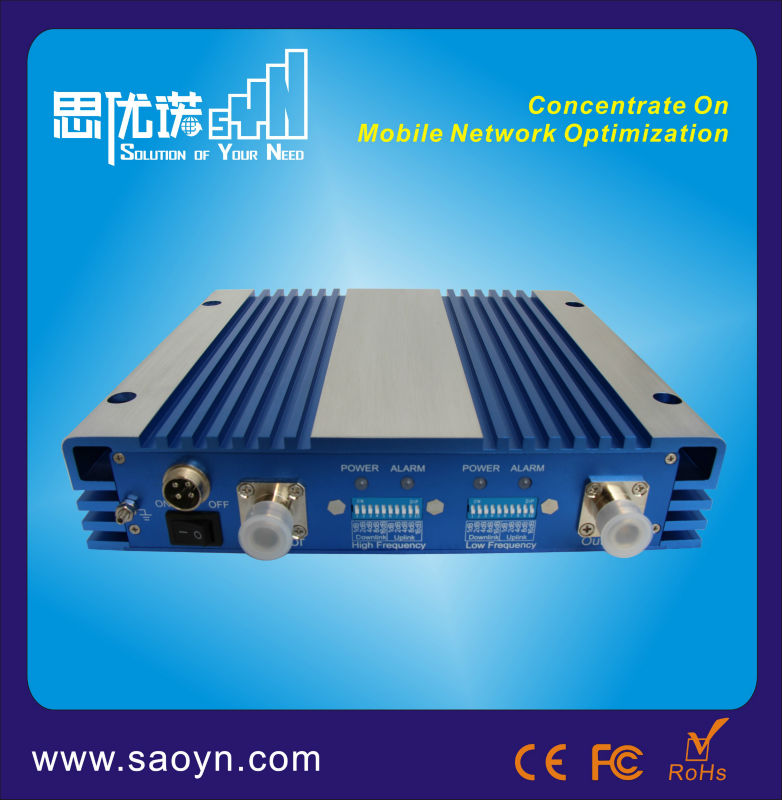 850 1900 mhz Dual Band Mobile Signal Repeater cellphone repeater duplex amplifier mobile repeater for 850 1900mhz