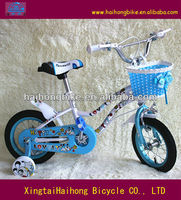 the lovely princess bicycle for child with blue color