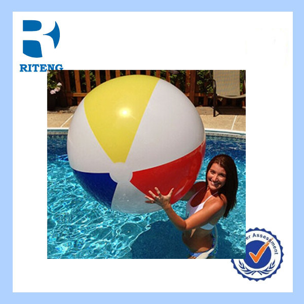 PVC inflatable transparent beach ball toy