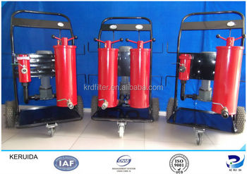 Three stage portable used engine oil recycling machine for Used motor oil recycling equipment