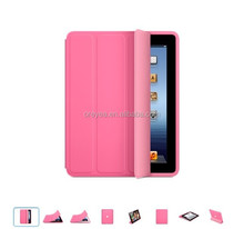 Top sale case for ipad smart cover with sleep/wake function paypal