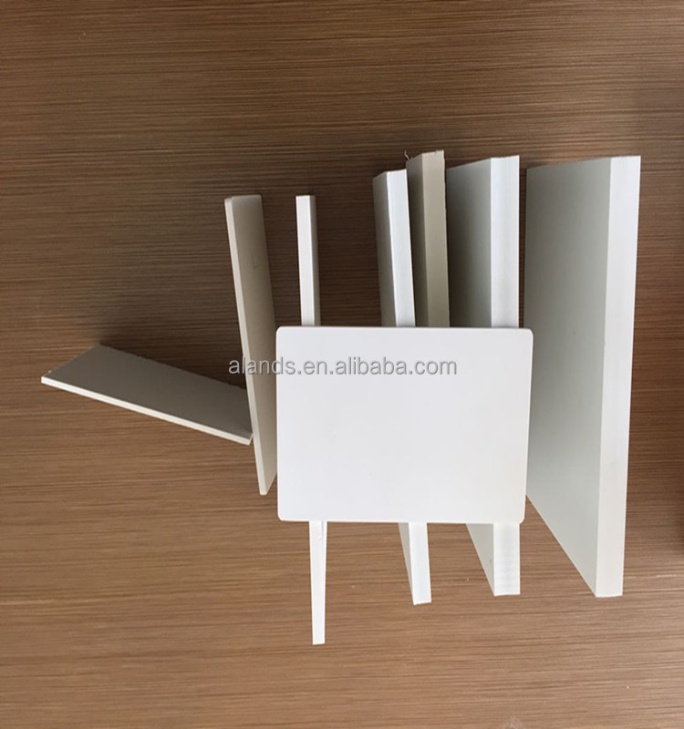 High density 4x8 2-30mm Thick Plastic PVC Foam Sheet for Wall Decoration