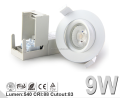 5 Yrs warranty Norge Patent GYRO dimmable downlight 230v with ELKO dimmer cutout 83MM IP44