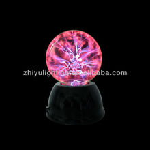 2013 hottest magic charming luminaire gift 5 inch Sensitive plasma ball