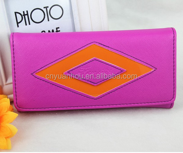 Women Brand Wallets Famous Designer PU Leather Purses Ladies Multi Colors Wallets Wholesale