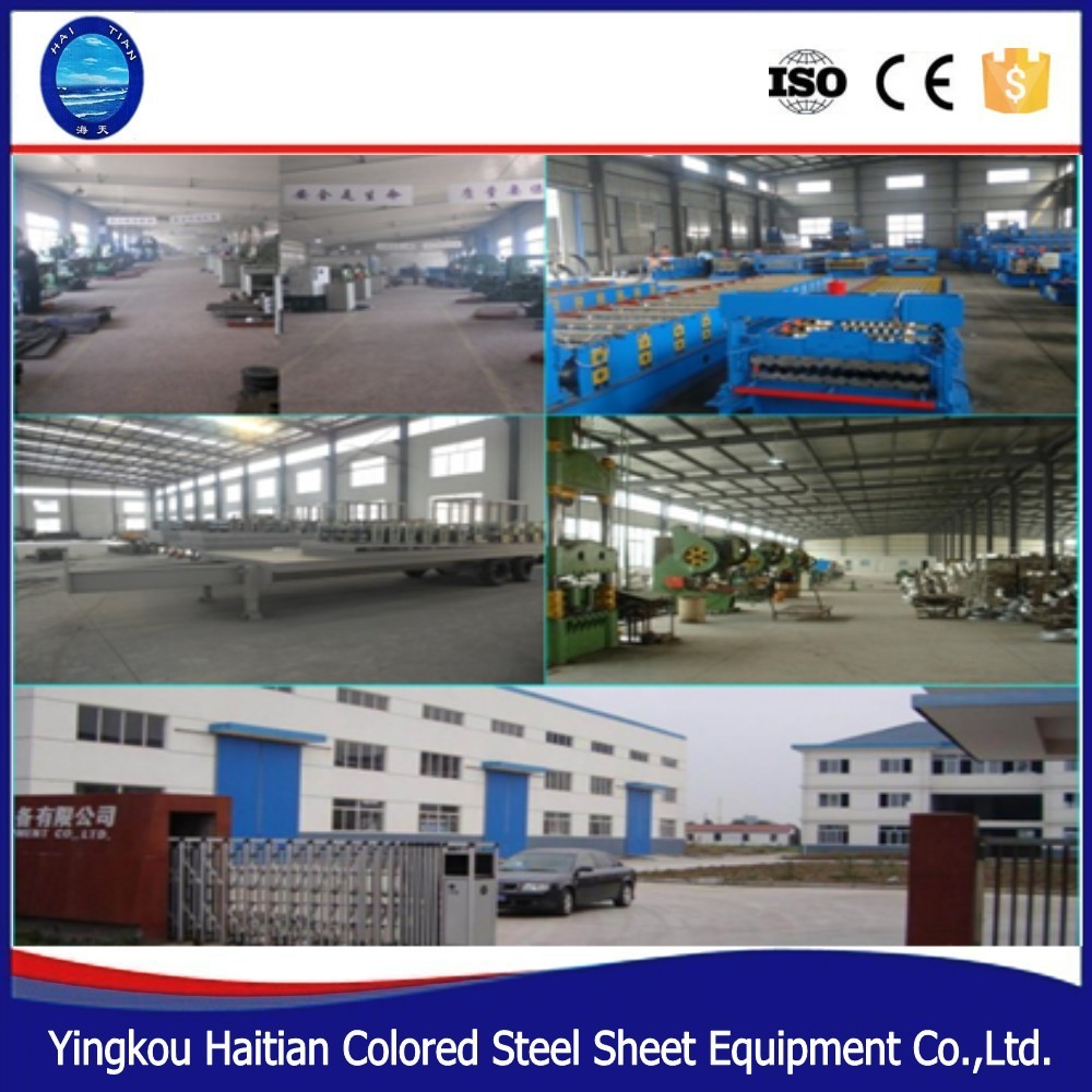 No Beam Curving Roller Forming Machinery Arch Bending Machine arch building making line