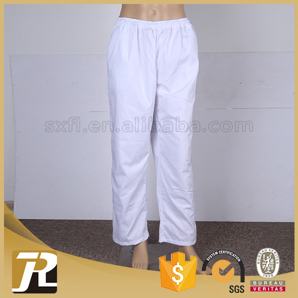 Shaoxing supplier Hot sale professional high quality white chino pants men