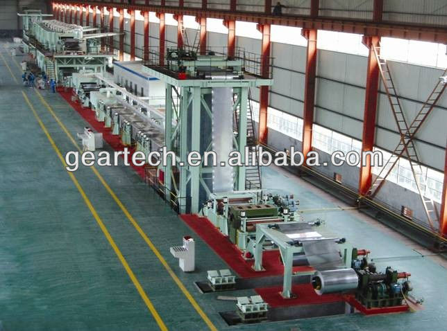Steel Coil galvanized steel plate Zinc-Al plate and cold rolled plate color Coating painting machine production Line 2014